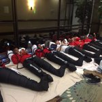 Members of the #Bearcats defense getting their legs right for the ECU game using @NTRecovery! #BeatECU https://t.co/KK353cTT3W