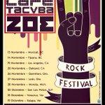 Café Tacvba-Zoe Ven y disfruta de estas dos grandes bandas Estadio 20 de Noviembre, 20:00 hrs. San Luis Potosí https://t.co/EWAO47cF1p