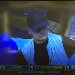 Bill Murray is at the USC-Xavier game. His son, Luke, is an assistant coach at Xavier. https://t.co/YVf9ad8vQM