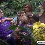 The first team sent to the Danger Zone is the Green Team! #ImACeleb https://t.co/j4sQPweadD