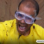 Its a win for the Yellow Team! Look how happy Kieron is... #ImACeleb https://t.co/ELU6SOos3o