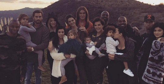 Scott Disick, Kanye, Tyga join Kardashian Jenners for Thanksgiving