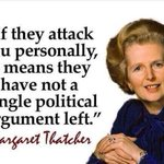 To the Tory and Murdoch gutter press: Lady Thatcher sums up your personal attacks against Jeremy Corbyn @mcphew https://t.co/KqaQl4jdF2