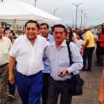 Ex prefecto El Oro Montgomery Sánchez llega a inauguración terminal terrestre en Sta Rosa @MongoAmigo @JorgeGlas https://t.co/MJc6ozD76q