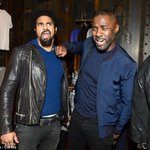 Actor Idris Elba goofs around with heavyweight champion David Haye.. To Read> https://t.co/Kz79O7P72v https://t.co/3NGOk2Opug