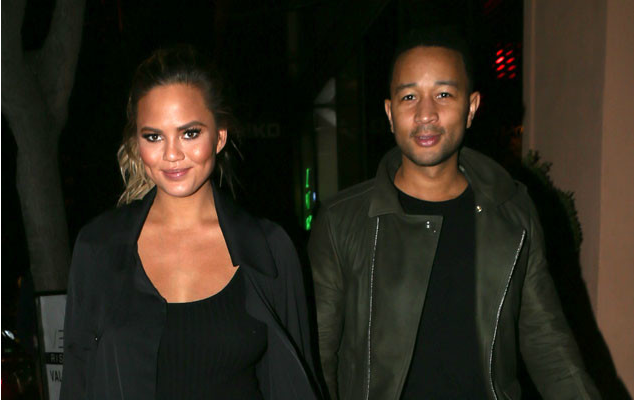 Chrissy Teigen and John Legend look a little different after their Thanksgiving meal: