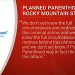 Statement from Planned Parenthood of the Rocky Mountains regarding #CentennialBlShooting https://t.co/ocbDL6H4nP