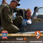 MATCHDAY & RAAF ROUND! Be at Hunter Stadium at 5:15pm for the Hornet fly over & kick-off! ✈️⚽️ #NEWvBRI #ALeague https://t.co/pfNPbgGxGF