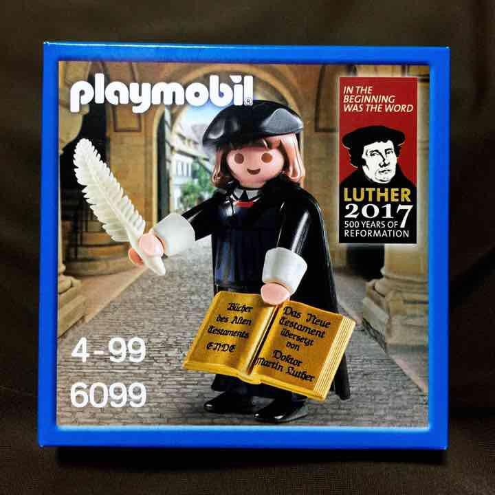 宗教改革500周年を記念して作られた限定の「マルティン・ルター」プレイモービル(ドイツ製フィギュア)です。エインカレム レジカウンター横にて2500円➕税にて販売中です! https://t.co/lascywHqJb