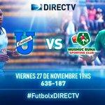 #FutbolxDIRECTV ¡Se abre la fecha 19! ⚽#UCatolica????#MushucRuna ????635-187 ⏰19h00 ????DIRECTV Play: https://t.co/LfguSdXNPR https://t.co/yYAwZo6qMl
