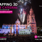 El Mapping 3D musicalizado, es un proyecto que nació hace un año en colaboración con el @CMMASorg. ¡Te esperamos! https://t.co/pfjVor8wS6