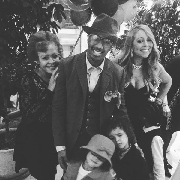 Nick Cannon and Mariah Carey's twins can't stop their