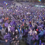 The TCU fans that stayed through the cold and the rain just got their reward. https://t.co/gwKmvG2I3C
