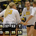 .@GoShockersVB advances to tomorrows championship match. https://t.co/gzieSZ91Uj