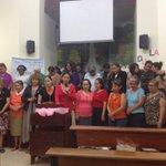 Culminando la #semanadeevangelismofemenino dirigida por #hnaangelica @edilperez7 @Pr_Freddy @MEScomunica https://t.co/lqAgsWyVVk