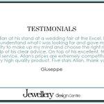 Check out some of our customer feedback >>> https://t.co/40j9GAeMUm #Jewellery #Wedding #Essex #London https://t.co/9CKYJJCKYA