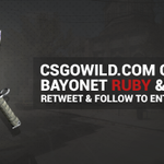 CRAZY https://t.co/cOyKFGNaCK Bayonet Ruby & Sapphire giveaway! Retweet and follow to enter. Drawn December 6th. https://t.co/1VVYw2pNPk