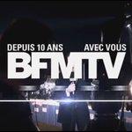 Joyeux anniversaire @BFMTV ! 10 ans de priorité au direct! #BFMTV #PrioritéAuDirect https://t.co/C7Aso5QueH