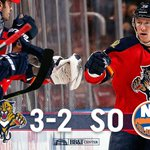 Every #FlaPanthers shooter scores in the shootout and its a 3-2 victory! #NYIvsFLA https://t.co/0kg4mL2GPP