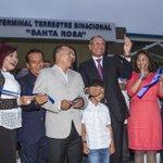 ¡Hoy inauguramos en Santa Rosa, El Oro, la primera Terminal Terrestre Binacional de la provincia y del país! https://t.co/bpDYjB5taz