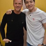 Mr. Bryan White with the Pambansang Bae Alden Richards. #ALDUBStaySTRONG https://t.co/88hLMd8lNa