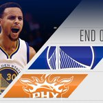 #Warriors with a 22-point advantage at the end of 3Q! https://t.co/G9yBBUWf8K