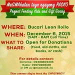 FEEDING PROGRAM of OFC A|M NATION ILOILO CHAPTER @maiden16_iloilo See poster for more details #ALDUBStaySTRONG https://t.co/1FEwakM8iZ