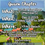 ALDUB FANS IN GUAM, COME & JOIN US! 1st GT of A|M NATION GUAM CHAPTER! See poster for more info @maiden16_Guam https://t.co/3oGiVNYOQJ