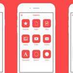 Free HTML/CSS mobile templates by @guillaumemick https://t.co/NBYbLCAMAL https://t.co/vRxfiAzn3h
