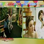 Yaya and Alden are back together, Frankie naman ang broken hearted coz Cindy end up with Amnesia? #ALDUBStaySTRONG https://t.co/8m52JZtpQm