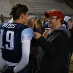 Camarillo QB Jake Moss, talking to The Stars Joe Curley, helped guide Scorpions into the CIF title game @vcspreps https://t.co/qh5UY0npVq