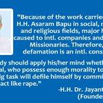 Dr Jayant Athavale-Asaram BapuJi works 4 Hinduism. So Missionaries r targeting Him #SICKularConversions . https://t.co/uqOAE5i95o