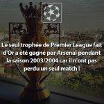 Arsenal 2003 / 2004  26 victoires 12 matchs nul 0 défaite https://t.co/Mi6FQKIpSY