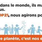 """[COP21]""""Notre Planète,c'est nos emplois !"""" Affichez votre soutien à la #COP21 en diffusant cette image! #GoCOP21 https://t.co/njj6lN4tAI"""