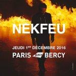 #FeuTour @nekfeu @AccorH_Arena (Bercy) 1er décembre 2016 +tournée 2016 billets 30/11 10h ici:https://t.co/cJsU7nNRTa https://t.co/BznBmyOhb4