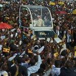 Pope honours Ugandan martyrs on Africa tour https://t.co/xe6AcRFfB1 https://t.co/8blucOSOWA