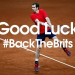 Get @BBCSport, @BBCOne or @bbc5live on now to see @andy_murray & @jamie_murray in #DavisCup action! #BackTheBrits https://t.co/sfPDPuXZhS