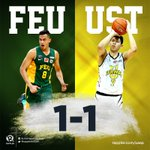 GAME OVER. UST Growling Tigers force a deciding Game 3 in the #UAAPFinals! @cherrymobileph #HatawSaBilis #GoUSTe https://t.co/PEqXvKgUY0