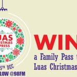 Who wants to get a place on the @Luas Christmas Express?  RT and follow us for your chance to win! https://t.co/0flGpeMvf7
