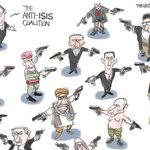 CARTOON: The anti #ISIS coalition. - @Patbagley https://t.co/w09g9gsiDs
