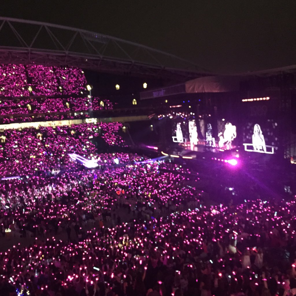 This is quite possibly the best live #sydney live show -@taylorswift13 #1989 #TaylorSwift - thanks @qantas!