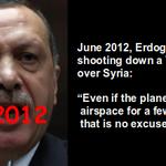 #Flashback 2012: What Erdogan said when Syria shot down Turkeys plane over Syria https://t.co/Tp1JXSI33E #Russia https://t.co/Bk4qJOGzG0
