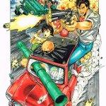 Quand Murata, dessinateur dEyeshield 21 et One Punch Man rend hommage à City Hunter... ben ça tue. :) https://t.co/nGrLaT4Pxy