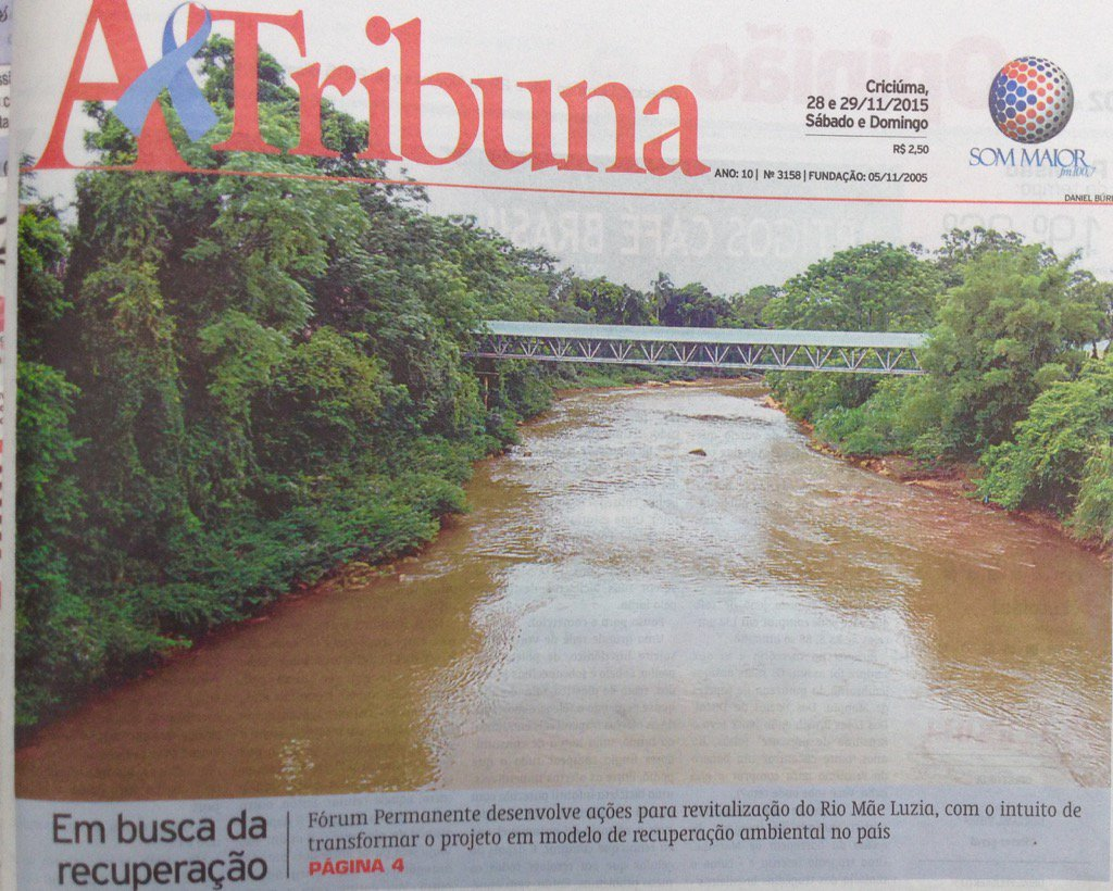 Comunidade organizada formula estrategia resgate Rio Mae Luzia https://t.co/hN5cvvjL3j
