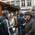 [En images] @BCazeneuve visite le marché de Noël de #Strasbourg #MarcheDeNoel https://t.co/0d5TqKGupm