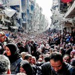 There are now more Syrians who are displaced or refugees than there are Syrians whove remained in their homes @hrw https://t.co/nnVvtoKsiz