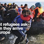 The top 10 questions refugees ask us when they arrive in Europe: https://t.co/Mt8OqHhbyL https://t.co/uNsTBiX9cr