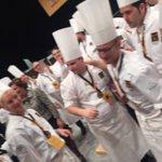 Extremadura gana Bocuse DOr El cocinero Juan Manuel Salgado (ex @danigarcia_ca) y ayudante Manuel Pavón gaditano https://t.co/6WSKsxrQR3