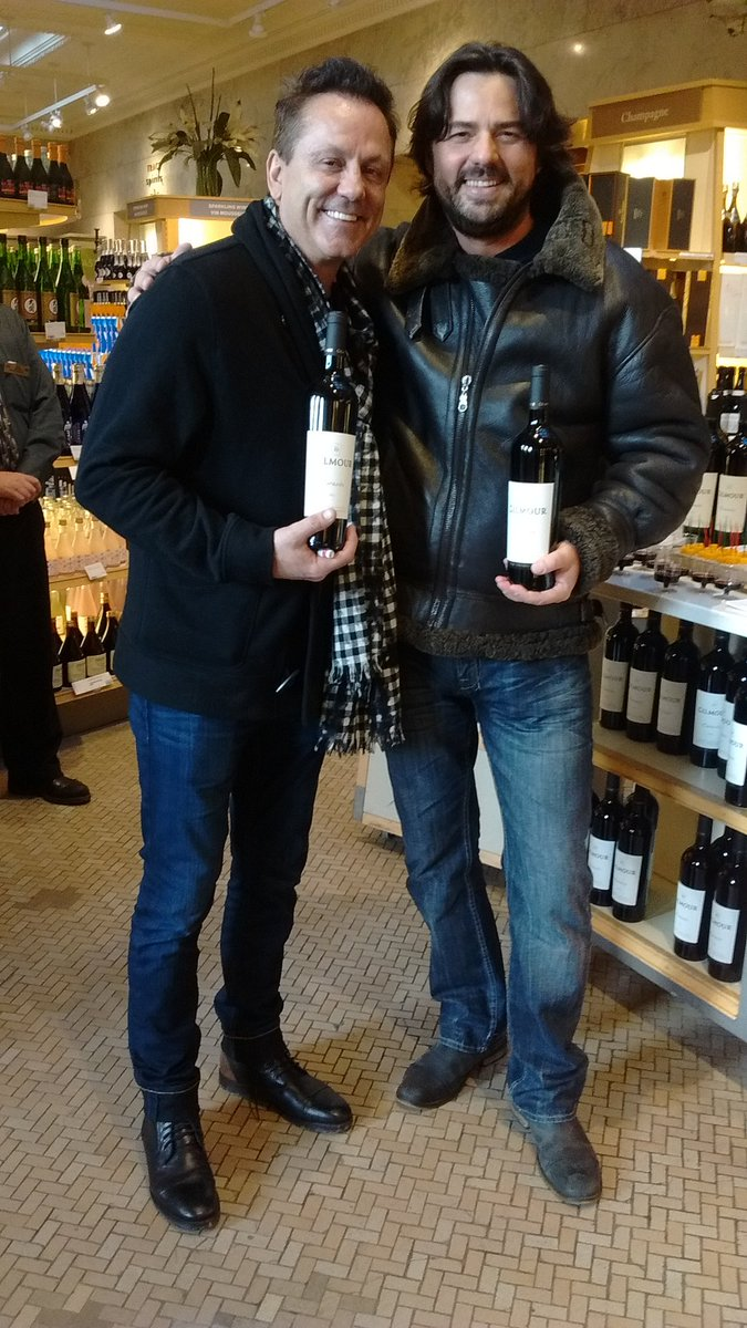 hockey legend Doug Gilmour @lcbo release of his meritage 'Corazón' an exceptional red for a steal $ cc @KarloEstates https://t.co/xSdS3fWBVK