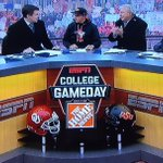 """Bubba would disown me if I didnt pick Georgia."" @RickieFowler appears on @CollegeGameDay. https://t.co/v0O5H7kYVL https://t.co/CfPS52twUg"